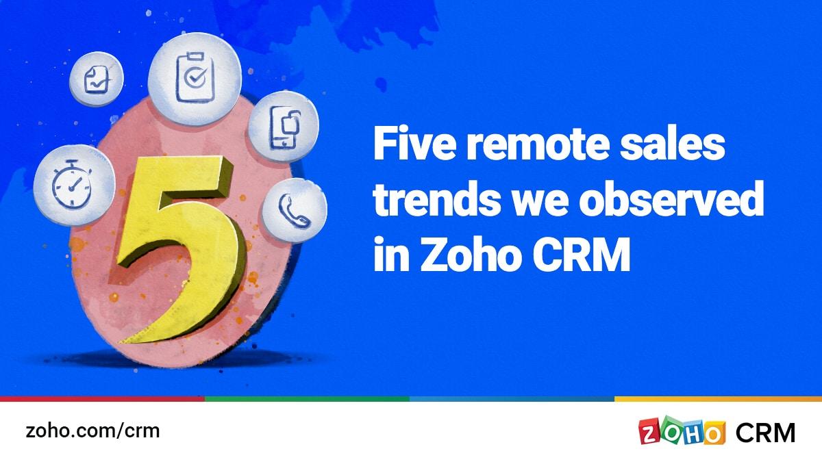 five remote sales trends - illustration